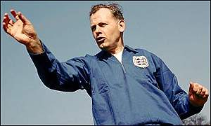 England's first international manager, Sir Walter Winterbottom