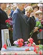 Memorial service in St.Petersburg on the anniversary of the sinking