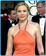 Britney's movie mum, Kim Cattrall