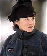 Slalom skier Emma Carrick-Anderson used to always wear lucky ear-rings when she raced - but then she lost them