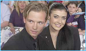 Kym Marsh and Jack Ryder