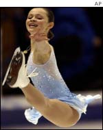 American Sasha Cohen was the surprise package