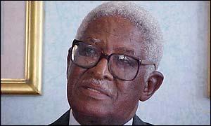 head of the South African delegation, Sam Motsuenyane