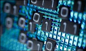 circuit board and binary code, Eyewire