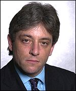 John Bercow, shadow chief secretary to the Treasury