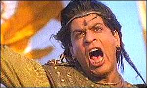 Shahrukh Khan as warrior king Asoka