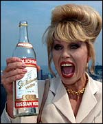 Joanna Lumley as Patsy in Absolutely Fabulous
