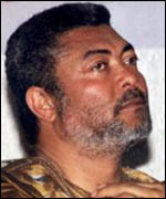 Jerry Rawlings, former Ghanaian President