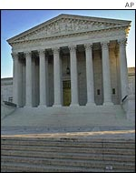 US Supreme Court in Washington