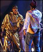 Ali G performed a duet with Shaggy
