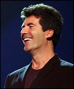 Simon Cowell was the subject of one of Skinner's jibes