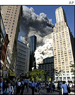 WTC disaster, 11 September