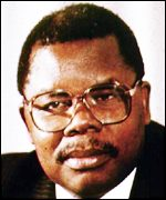 President Benjamin Mkapa of Tanzania