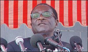 President Robert Mugabe of Zimbabwe