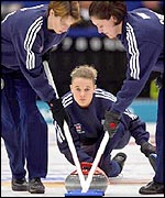 The British women's curling team triumph at the Winter Olympics