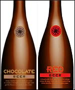 Chocolate and Red bottles