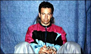 Daniel Pearl in a photo released by his kidnappers