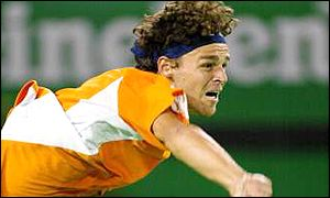 Kuerten has been struggling with a hip injury