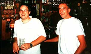 Gary Sutton, left, and Mike Lewis