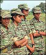 Female Tamil Tigers fighters