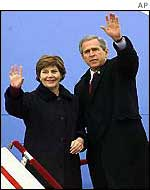President and Mrs Bush