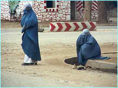 Here in Herat some women still chose to wear burquas, although this is no longer Taleban law