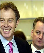 Tony Blair and Jack McConnell