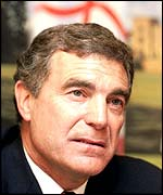 Ex England soccer star Trevor Brooking, now chair of Sport England
