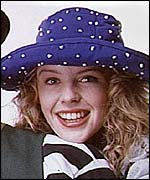 Minogue in 1989, at the time of her duet with Jason Donovan