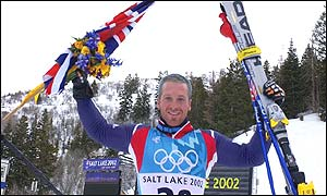 Great Britain's Alain Baxter
