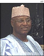 The head of the Commonwealth observer mission Abdulsalami Abubakar