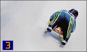Venezuelan 40-year-old Iginia Boccalandro, who crashed out in the women's luge