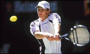 Andy Roddick of America