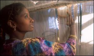 Child weaving in Pakistan