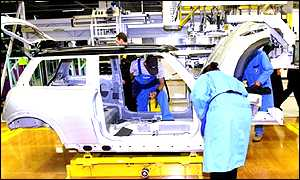 BMW's Mini assembly plant, Cowley