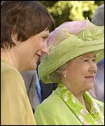 Prime Minister Helen Clark and Queen