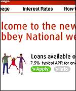 Abbey National website