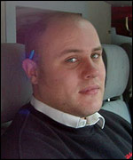 Richard Coe, 25, of Northolt, Middlesex, engineer for Coca Cola