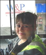 Janet Kelly, 22, of Shepherd's Bush, west London, bus driver