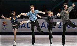 Jamie Sale and David Pelletier and Elena Berezhnaya and Anton Sikharulidze