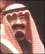 Crown Prince Abdullah of Saudi Arabia