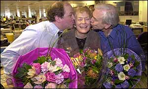 Sue MacGregor, John Humphrys, James Naughtie