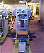 Gym equipment from Enron's London HQ