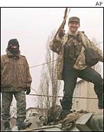 Chechen guerrillas