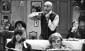 Alf Garnett - the original grumpy, irritable man