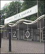 Dudley Zoo entrance