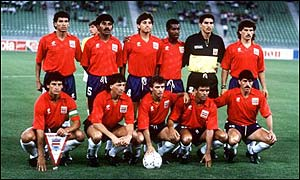 Costa Rica at the 1990 World Cup
