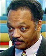 Civil-rights activist Reverend Jesse Jackson