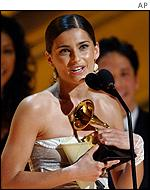 Nelly Furtado won for her hit I'm Like a Bird