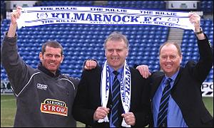 Ian Durrant, Jim Jefferies and Billy Brown take over at Killie